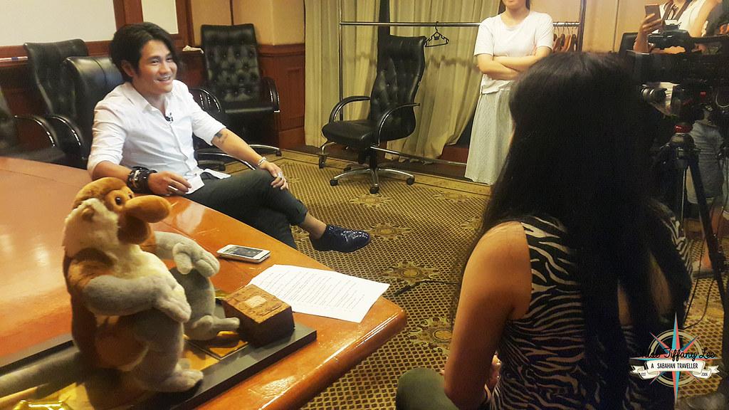 EXCLUSIVE INTERVIEW WITH GARY CHAW 曹格 IN KOTA KINABALU, Sabah, Sabah Tourism Board, Shangri-La Tanjung Aru, Chloe Tiffany Lee1