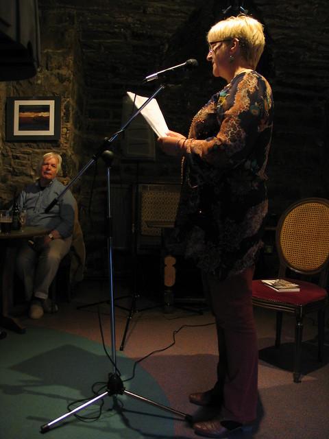 Nancy Somerville at Shore Poets June 2013