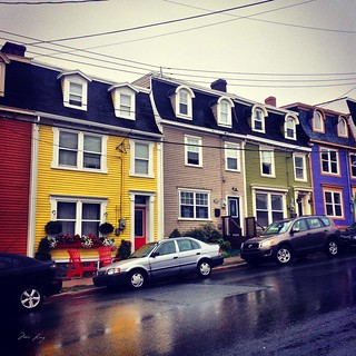 Jelly bean row houses