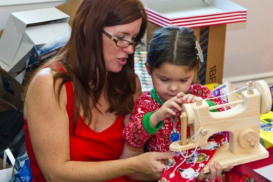 Annie's sewing machine