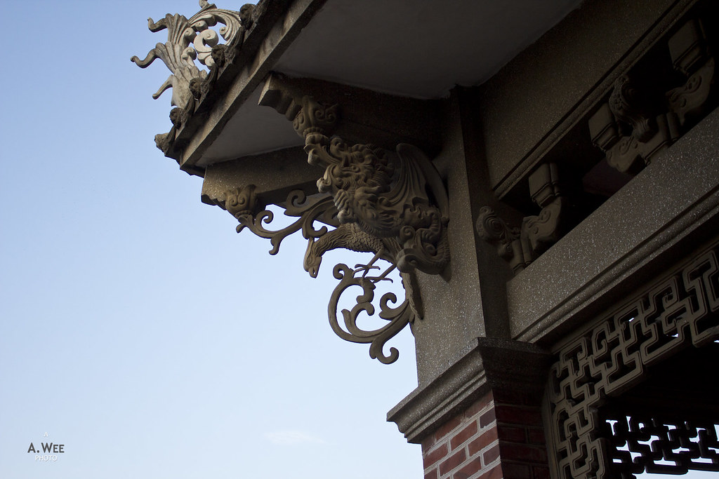 Roof Detail of Hi Heaven Villa 海天堂