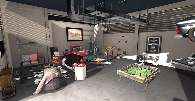 Garage Hideaway