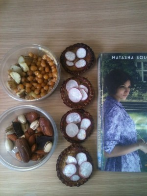 Food and a book
