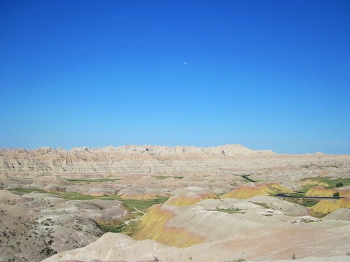 Yellow mounds