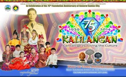 KALILANGAN FESTIVAL 2014 POSTER