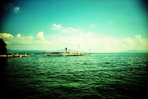 Lac Léman / Genfer See - Nyon (CH)