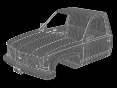Wireframe Truck