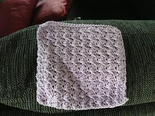 Textured dishcloth