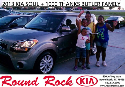 Thank you to Samantha Butler on the 2013 Kia Soul from Fidel Martinez and everyone at Round Rock Kia! by RoundRockKia
