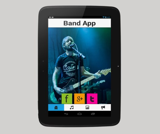 Musician - A Music Band Android App - 5