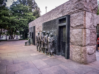 Bread Line - FDR Memorial