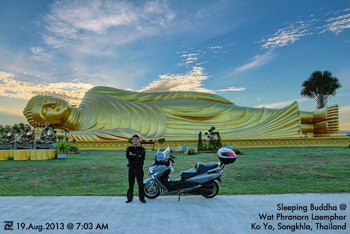 Sleeping Buddha @ Ko Yo