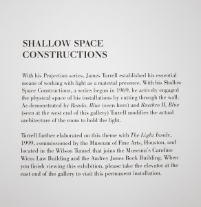 James Turrell - Shallow Space