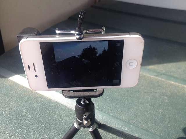 Using the Magnet Stick-on Spy Lens (90°) Periscoping Lens