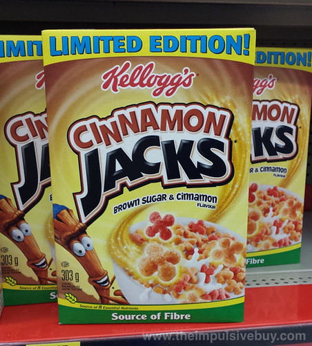 Kellogg's Limited Edition Cinnamon Jacks (Canadian Version)