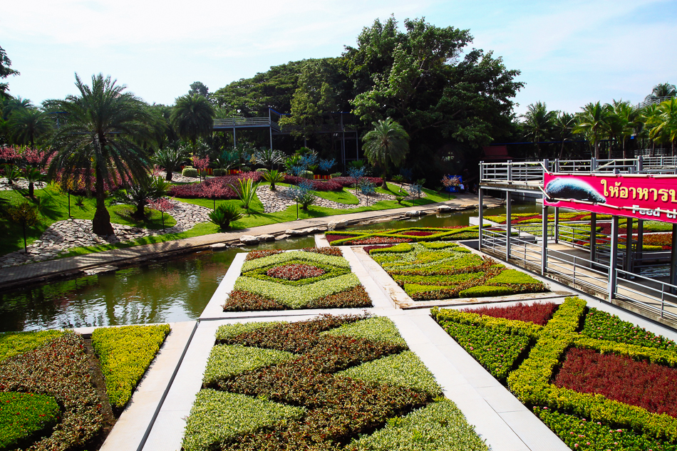 Floating Oasis, Nong Nooch Tropical Garden, Pattaya