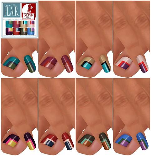 Flair - Nails Set 55