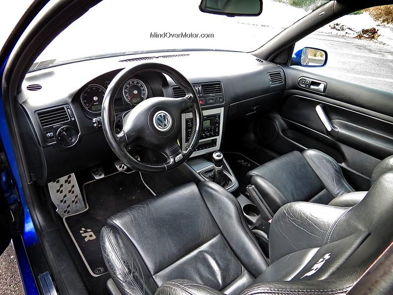 2004 Volkswagen Mk4 Golf R32 Interior by Mind Over Motor
