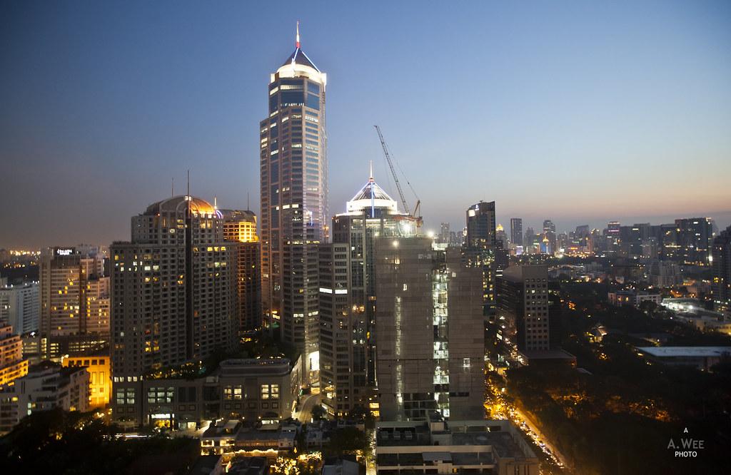 Dusk at Bangkok
