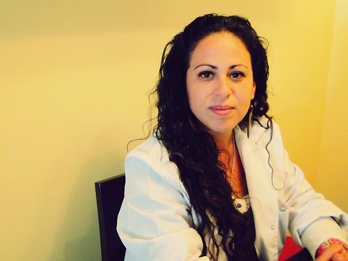 Anabel Sánchez, técnico de imagen para radiodiagnóstico