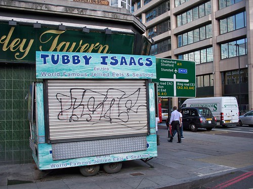Tubby Isaacs Seafood Stall, Aldgate