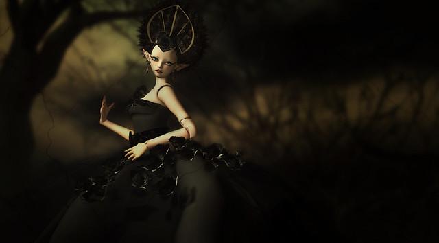 AD Goth dress