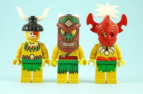 71002 LEGO Minifigures Series 11 05 Island Warrior 08