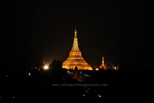one week in Myanmar shwedagon pagoda