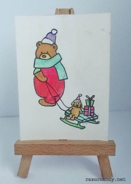 sleigh bear (2)