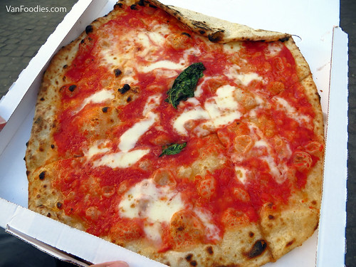 Margherita from L'Antica Pizzeria da Michele