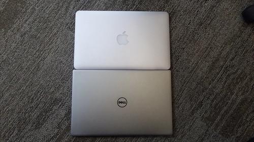 """เทียบ Dell XPS 13 กับ MacBook Air 11"""""""