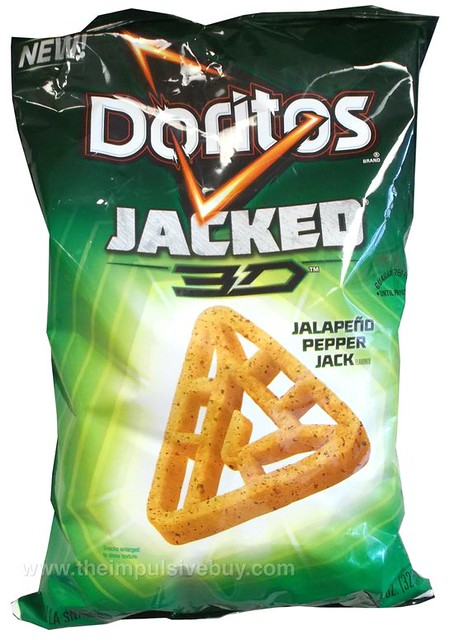 Doritos Jacked 3D Jalapen?o Pepper Jack