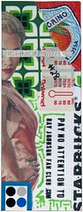 Ray Johnson Fan Club sticker #28