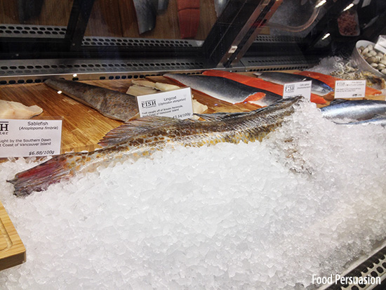 Sustainable fresh fish market