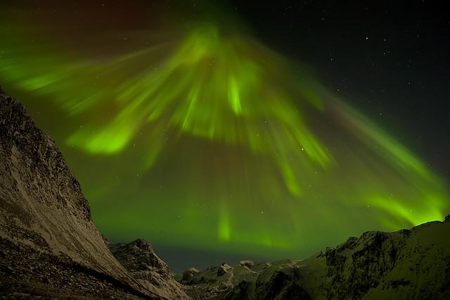 Aurora Borealis near Tromvik