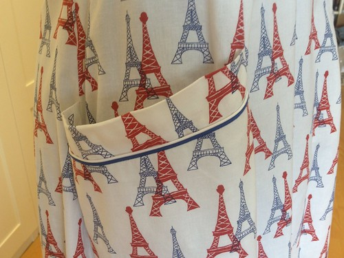 Eiffel Tower Butterick 7504 pocket