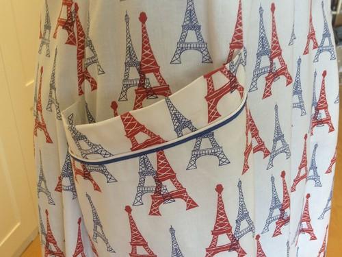 Eiffel Tower Butterick 7504 pocket