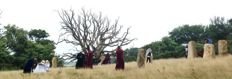 stone circle pre ceremony