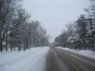 Half marathon road