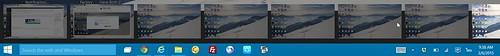Windows 10 รองรับ Multi desktop เท่าที่ลอง ได้สูงสุด 8 Desktop