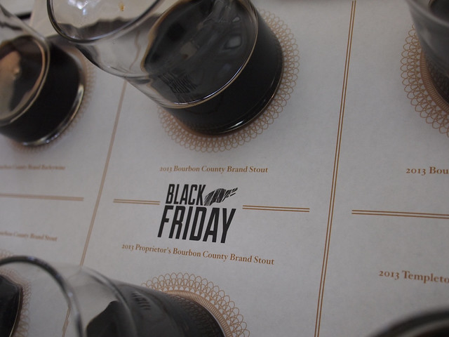 Goose Island Black Friday Tasting