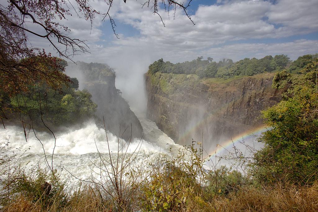Victoria Falls from Zimbabwe.