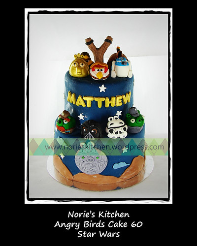 Norie's Kitchen - Angry Birds Cake 60 - Star Wars by Norie's Kitchen