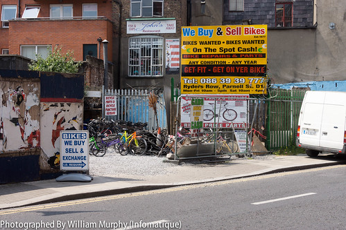 Streets Of Dublin - We Buy And Sell Bikes by infomatique
