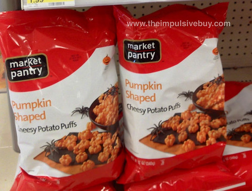 Market Pantry Pumpkin Shaped Cheesy Potato Puffs