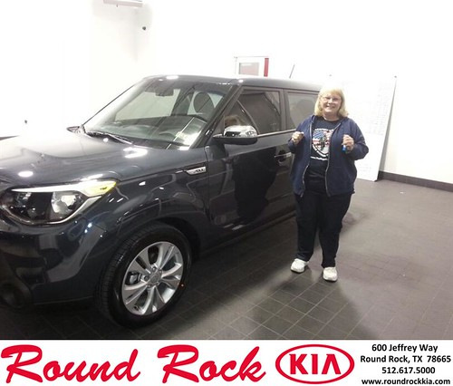 Thank you to Janet Cooley on your new 2014 #Kia #Soul from Fidel Martinez and everyone at Round Rock Kia! #NewCarSmell by RoundRockKia