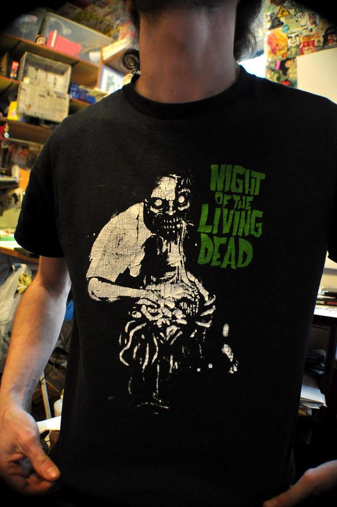 Night of the Living Dead tee-shirt