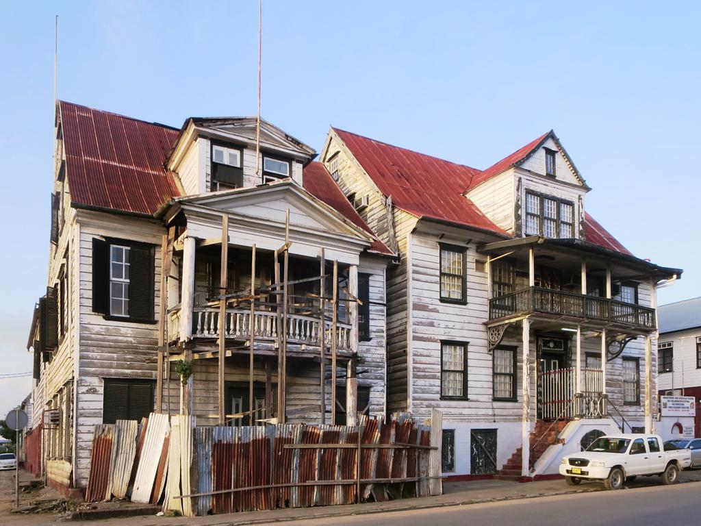 Foto gratis de un edificio en ruinas