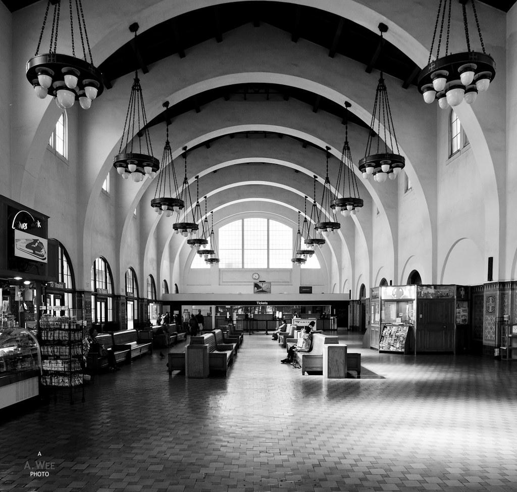 Santa Fe Terminal in B&W