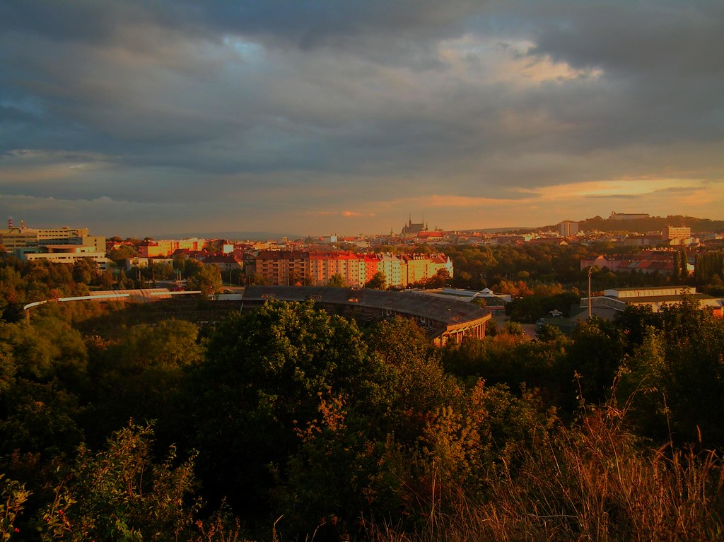 Brno Scape at Sunset 1